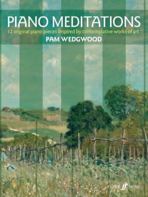 Piano Meditations Pam Wedgwood Partition Piano - laflutedepan
