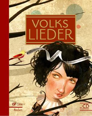 Volkslieder avec CD Livre Mélodies - laflutedepan