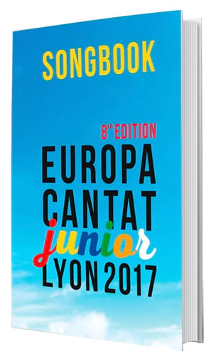 Europa Cantat Junior 8 Partition Chœur - laflutedepan