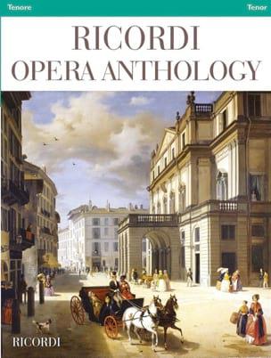 Ricordi Opera Anthology - Ténor Partition Opéras - laflutedepan