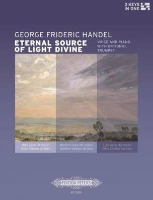 Eternal Source og Light divine HAENDEL Partition laflutedepan