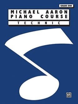 AARON - Piano Course Technic Grade 1 - Partition - di-arezzo.fr