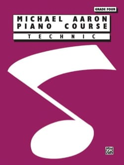 AARON - Piano Course - Technic - Volume 4 - Partition - di-arezzo.fr