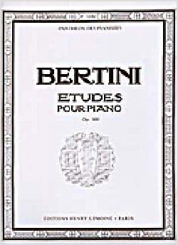 Henri Bertini - 25 Etudes Pour Piano Opus 100 - Partition - di-arezzo.fr