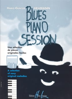 Blues Piano Session Hans-Günter Heumann Partition Piano - laflutedepan