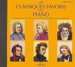 - Classiques Favoris Débutant CD - Partition - di-arezzo.fr