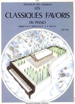 Classiques Favoris Volume 11. 4 Mains - laflutedepan.com
