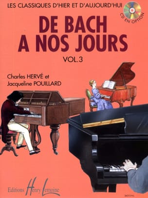 DE BACH A NOS JOURS - from Bach to the present day - Volume 3A - Sheet Music - di-arezzo.co.uk