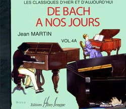 DE BACH A NOS JOURS - from Bach to our Days - Volume 4A - CD - Sheet Music - di-arezzo.co.uk