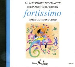 CD - Fortissimo Béatrice Quoniam Partition Piano - laflutedepan