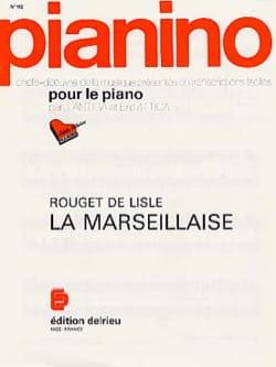 La Marseillaise de Lisle Rouget Partition Piano - laflutedepan