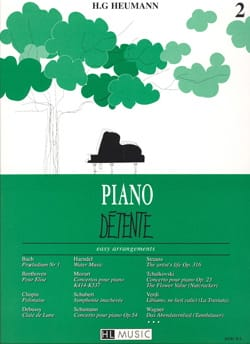 Piano Détente Volume 2 - Partition - Piano - laflutedepan.com