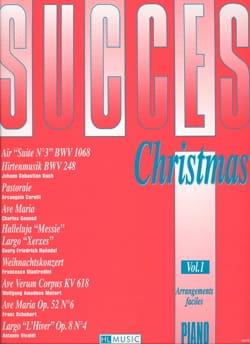 Succès Christmas Volume 1 - Partition - Piano - laflutedepan.com