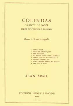 Jean Absil - Colindas Opus 87 - Sheet Music - di-arezzo.co.uk