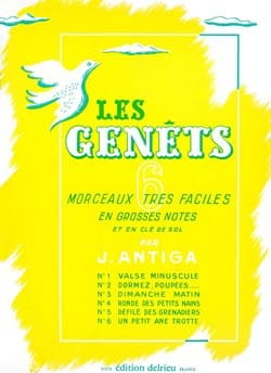 Jean Antiga - The Genêts - Sheet Music - di-arezzo.co.uk