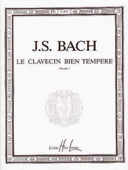 BACH - Il clavicembalo ben temperato, volume 1 - Partitura - di-arezzo.it