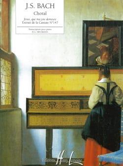 BACH - Jésus Que Ma Joie Demeure - Partition - di-arezzo.fr