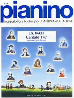 Jean-Sébastien Bach - Jésus Que ma Joie Demeure, Cantate 147 - Partition - di-arezzo.fr