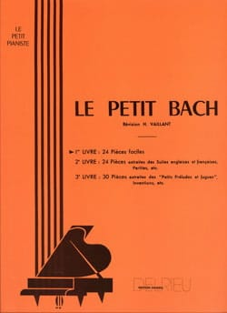BACH - The Little Bach Volume 1 - Sheet Music - di-arezzo.co.uk