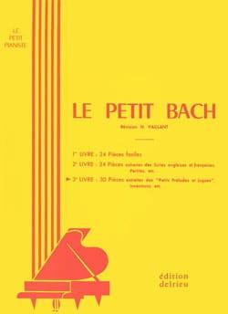 BACH - Le Petit Bach Volume 3 - Partition - di-arezzo.fr