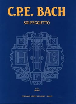 Carl-Philipp Emanuel Bach - Solfeggietto - Sheet Music - di-arezzo.co.uk