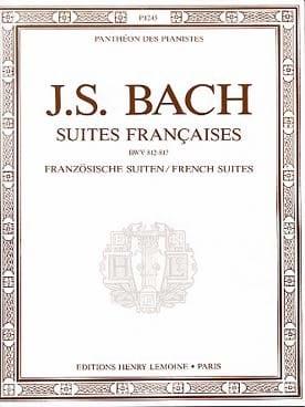 BACH - Suites Françaises - Partition - di-arezzo.fr