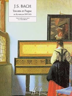 BACH - Toccata - Fugue D Minor - Sheet Music - di-arezzo.co.uk