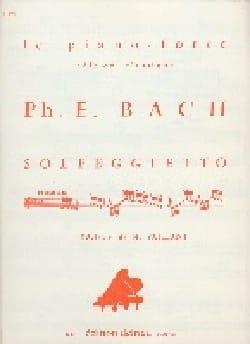 Carl-Philipp Emanuel Bach - Solfeggietto - Partitura - di-arezzo.es