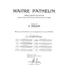 Romance. Maitre Pathelin - François Bazin - laflutedepan.com