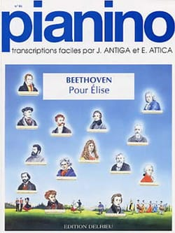 BEETHOVEN - Letter to Elise. Pianino 46 - Sheet Music - di-arezzo.com