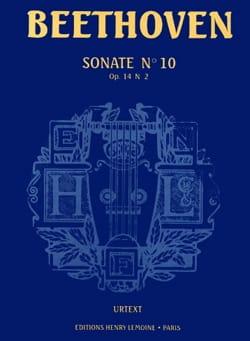 Sonate N°10 - Opus 14 N°2 - Ludwig van Beethoven - laflutedepan.com