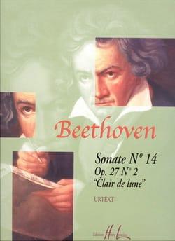 Ludwig van Beethoven - Sonate pour piano n° 14 en ut dièse mineur Opus 27 n° 2 - Partition - di-arezzo.fr
