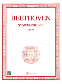 BEETHOVEN - Symphony No. 7 In the Major Opus 92 - Sheet Music - di-arezzo.com