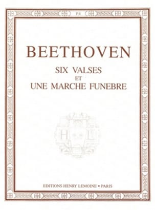 BEETHOVEN - 6 Waltzes and 1 Funeral March - Sheet Music - di-arezzo.com