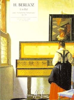 Un Bal BERLIOZ Partition Piano - laflutedepan
