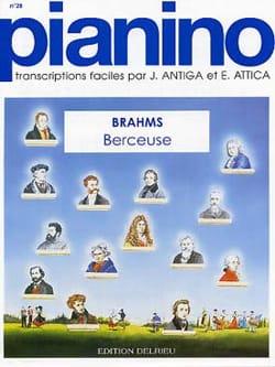 Johannes Brahms - Berceuse. Pianino 28 - Partition - di-arezzo.fr