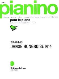 BRAHMS - Danse hongroise N° 4 . Pianino 53 - Partition - di-arezzo.fr