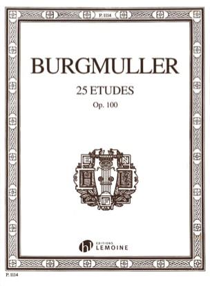 Frédéric Burgmuller - 25 studi Opus 100 - Partitura - di-arezzo.it