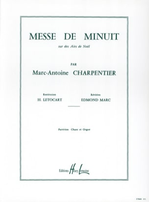 Marc-Antoine Charpentier - Midnight Mass H 9 - Sheet Music - di-arezzo.co.uk