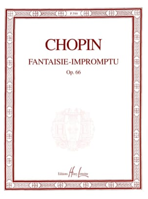 CHOPIN - Fantaisie-Impromptu Opus 66 - Partition - di-arezzo.fr