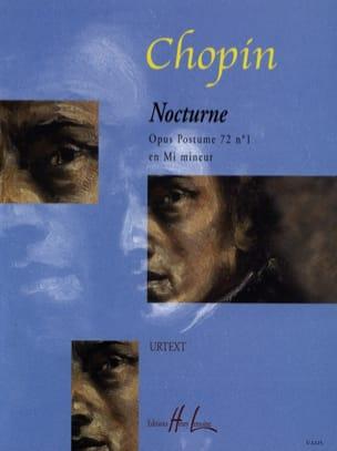 Frédéric Chopin - Nocturne Opus 72-1 En Mi Mineur - Partition - di-arezzo.fr
