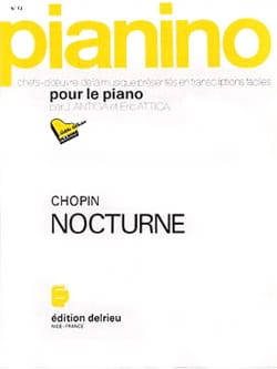 Frédéric Chopin - Nocturne en Mi b - Pianino 73 - Partition - di-arezzo.fr