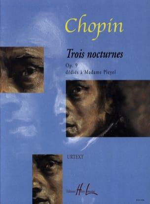 CHOPIN - 3 Nocturnes Opus 9 - Partitura - di-arezzo.it