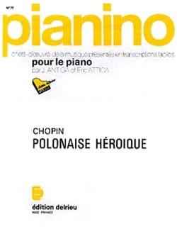 Frédéric Chopin - Polonaise Héroïque. Pianino 77 - Partition - di-arezzo.fr
