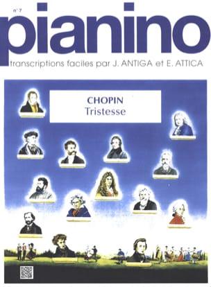 CHOPIN - Tristesse Opus 10-3. Pianino 7 - Partition - di-arezzo.fr