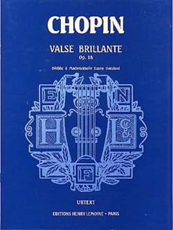 Grande Valse Brillante Opus 18 Urtext - CHOPIN - laflutedepan.com