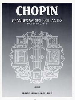 3 Grandes Valses Brillantes Opus 34 - CHOPIN - laflutedepan.com