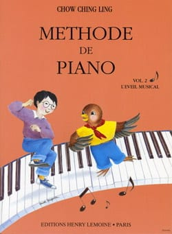 Méthode de Piano Volume 2 - Ching Ling Chow - laflutedepan.com