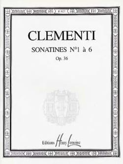 Sonatines Opus 36 CLEMENTI Partition Piano - laflutedepan
