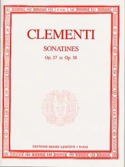Muzio Clementi - 6 Sonatines Opus 37 et 38 - Partition - di-arezzo.fr